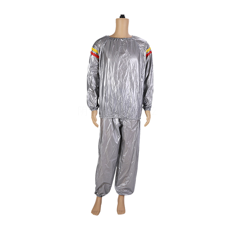 Wholesale High Quality Body Fitness PVC Sauna Suit For Lose Weight Sports