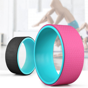 High Quality balance training Fitness Exercise TPE Yoga Wheel
