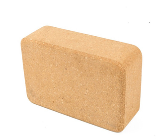 Wholesale high quality eco friendly durable cork yoga block